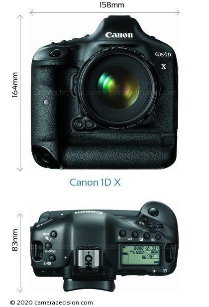 Canon 1D X Body Size Dimensions