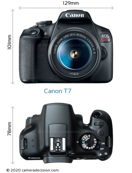Canon Eos Rebel T7 Review And Specs