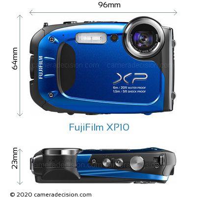 fujifilm xp10 review and specs rh cameradecision com Fuji XP 7.0 Bundle Fuji FinePix Waterproof Digital Camera
