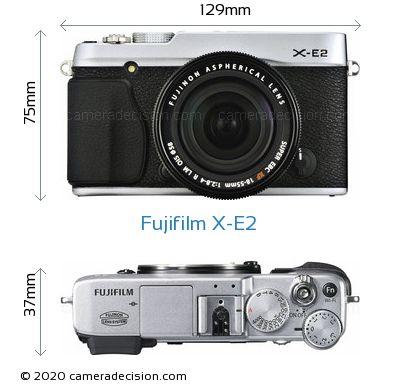 Fujifilm X-E2 Body Size Dimensions