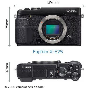 Fujifilm X-E2S Body Size Dimensions