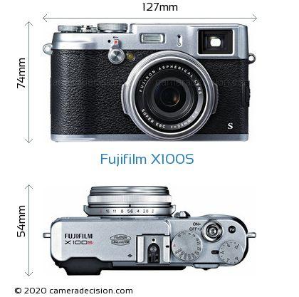 Fujifilm X100S Body Size Dimensions
