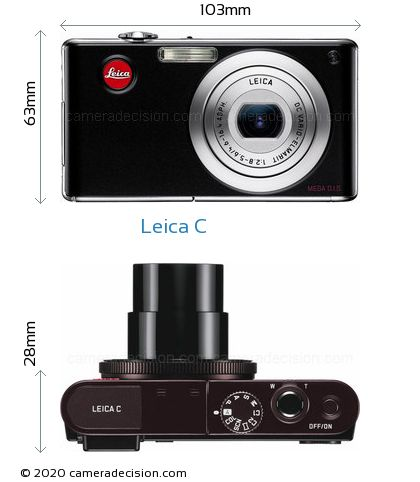 Leica C Body Size Dimensions