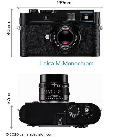 Leica M-Monochrom Body Size Dimensions