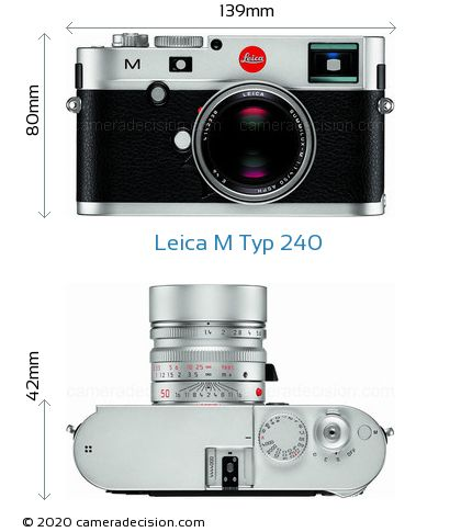 Leica M Typ 240 Body Size Dimensions