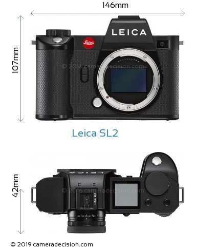 Leica SL2 Body Size Dimensions