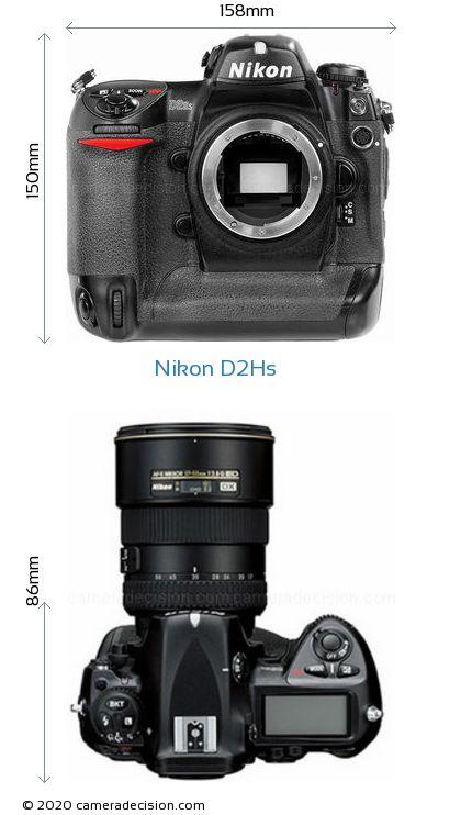 Nikon D2Hs Body Size Dimensions