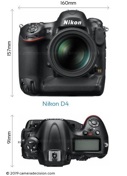Nikon D4 Body Size Dimensions