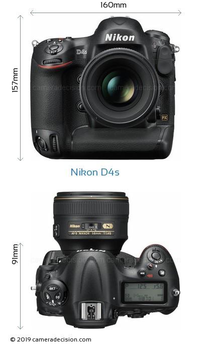 Nikon D4s Body Size Dimensions