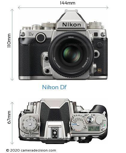 Nikon Df Body Size Dimensions