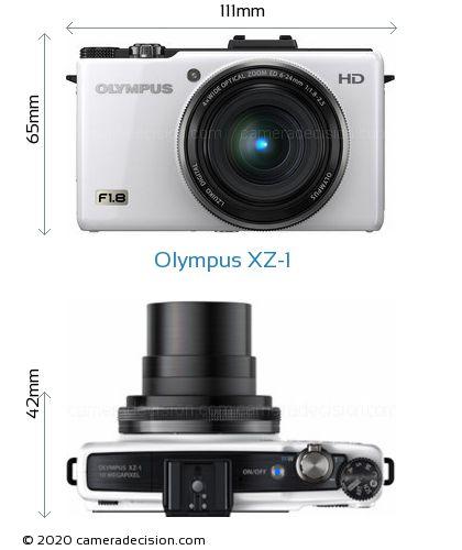 Olympus XZ-1 Body Size Dimensions