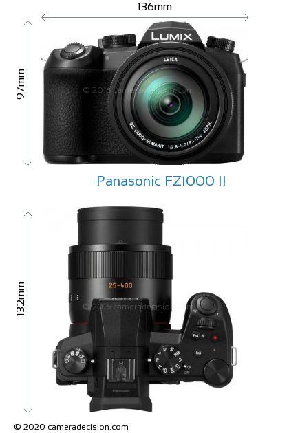 Panasonic FZ1000 II Body Size Dimensions