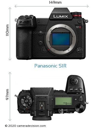 Panasonic S1R Body Size Dimensions