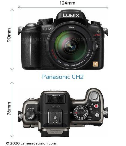 Panasonic GH2 Body Size Dimensions