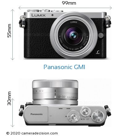 Panasonic GM1 Body Size Dimensions