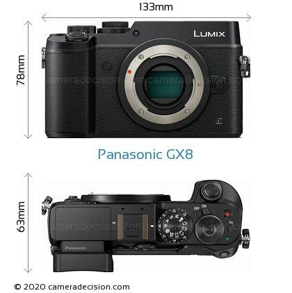 Panasonic GX8 Body Size Dimensions