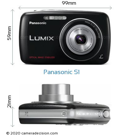 Panasonic S1 Body Size Dimensions