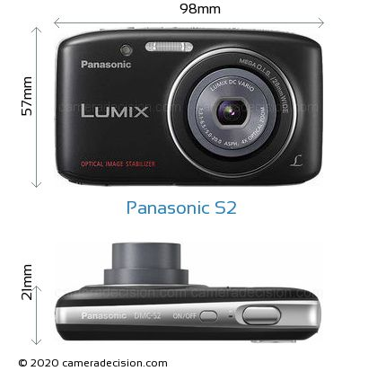 Panasonic S2 Body Size Dimensions