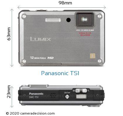 Panasonic TS1 Body Size Dimensions