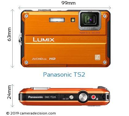Panasonic TS2 Body Size Dimensions