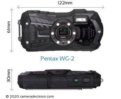 Pentax WG-2 Body Size Dimensions
