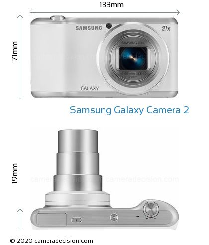 Samsung Galaxy Camera 2 Body Size Dimensions
