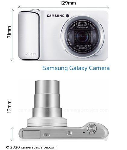 Samsung Galaxy Camera Body Size Dimensions