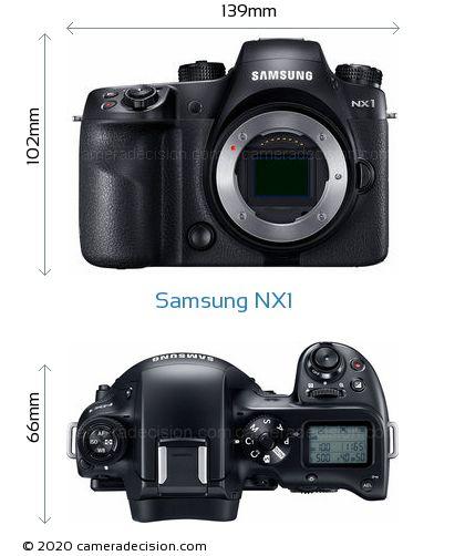 Samsung NX1 Body Size Dimensions
