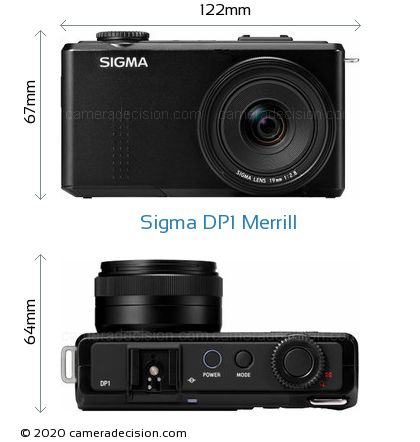 Sigma DP1 Merrill Body Size Dimensions