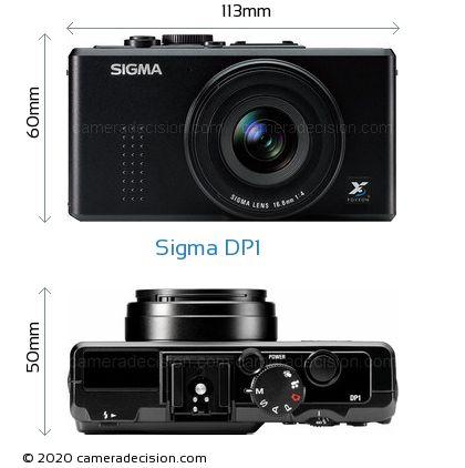 Sigma DP1 Body Size Dimensions