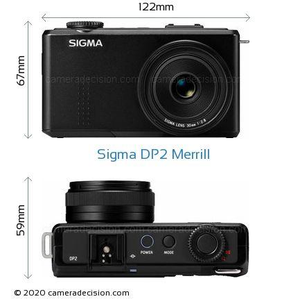 Sigma DP2 Merrill Body Size Dimensions