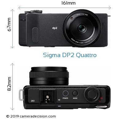 Sigma DP2 Quattro Body Size Dimensions