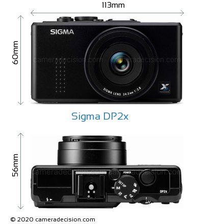 Sigma DP2x Body Size Dimensions
