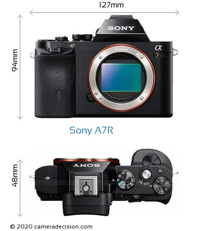 Sony A7R Body Size Dimensions