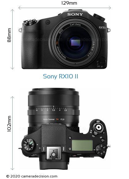 Sony RX10 II Body Size Dimensions