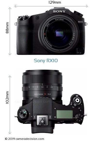 Sony RX10 Body Size Dimensions
