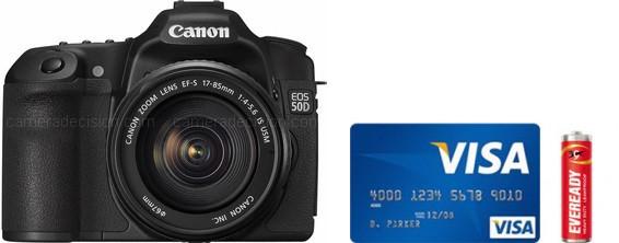 Canon 50D Real Life Body Size Comparison