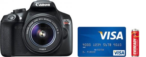 Canon T6 Real Life Body Size Comparison