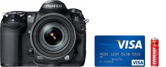 Fujifilm S5 Pro Real Life Body Size Comparison