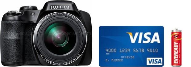Fujifilm S8200 Real Life Body Size Comparison