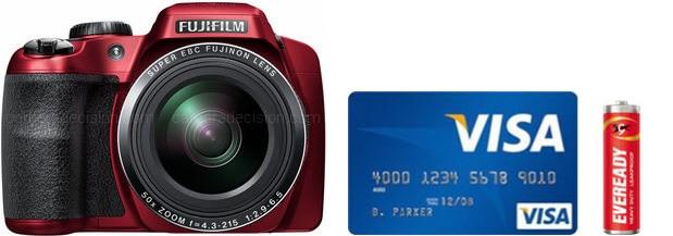 Fujifilm S9400W Real Life Body Size Comparison