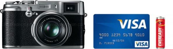 Fujifilm X100 Real Life Body Size Comparison