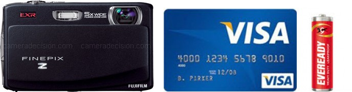 Fujifilm Z900EXR Real Life Body Size Comparison