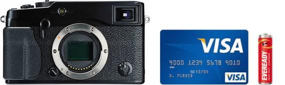 Fujifilm X-Pro1 Real Life Body Size Comparison