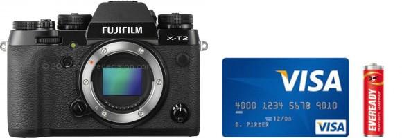 Fujifilm X-T2 Real Life Body Size Comparison