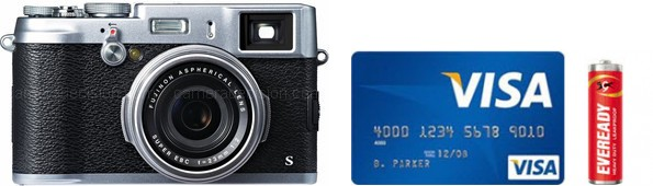 Fujifilm X100S Real Life Body Size Comparison
