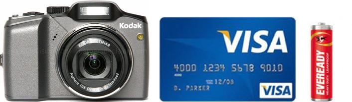 Kodak Z915 Real Life Body Size Comparison
