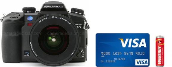 konica minolta 7d real life body size comparison - Konica Minolta Digital Camera