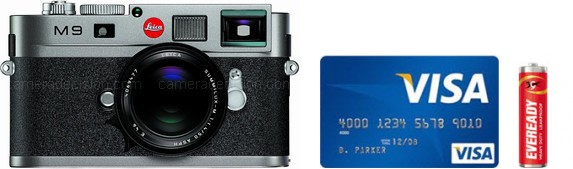 Leica M-E Typ 220 Real Life Body Size Comparison