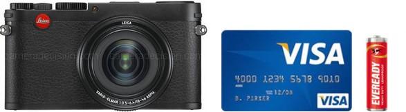 Leica X Vario Real Life Body Size Comparison